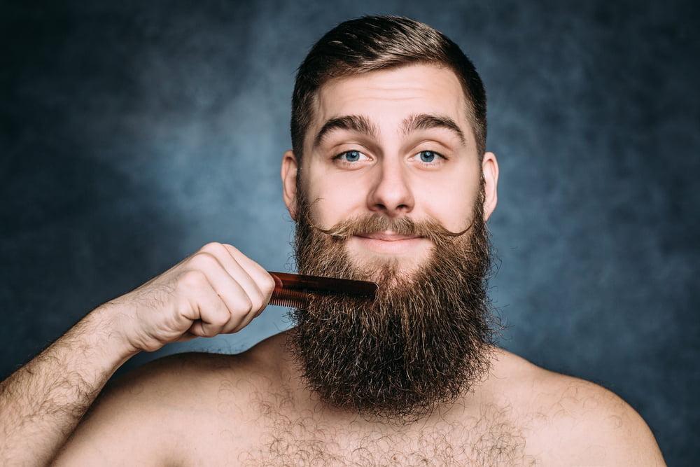thick beard